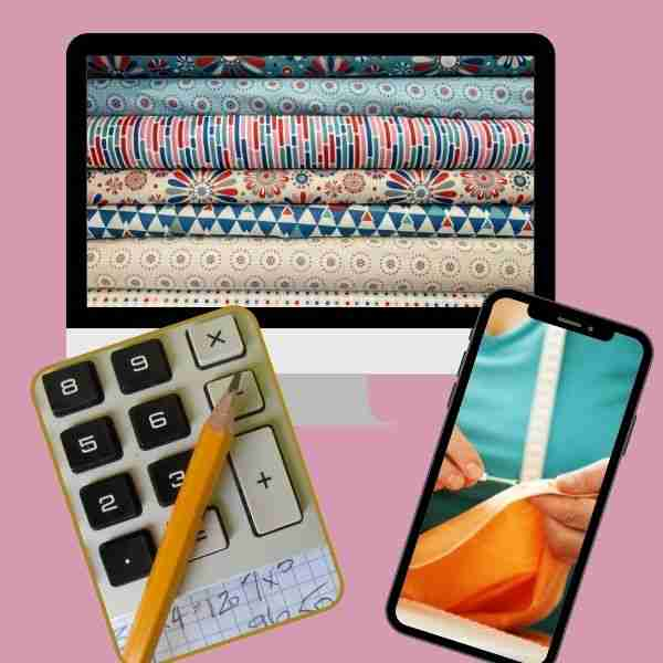 how to calculate fabric yardage for sewing