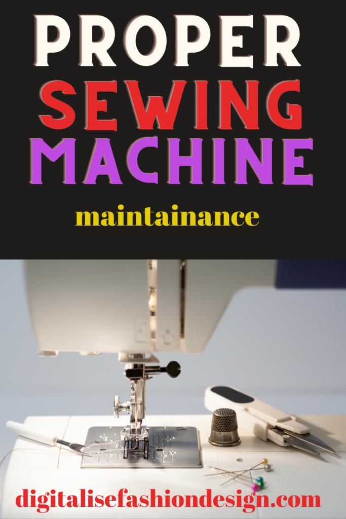 SEWING MACHINE MAINTAINANCE AND REPAIR